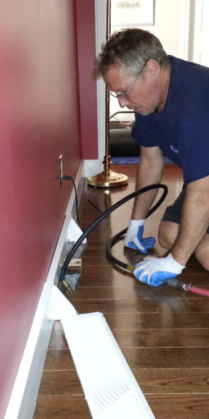 Cleaning of Air Supply Vents